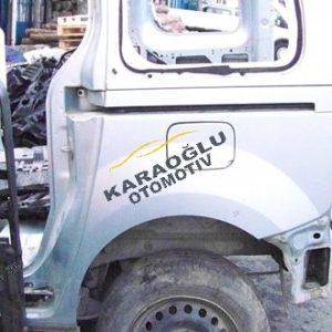 Renault Kangoo III Kesme Sol Arka Çamurluk 7751478989