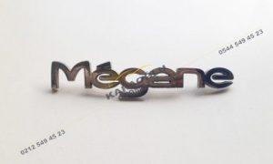 Renault Megane Bagaj Kapağı Yazısı 7700845989