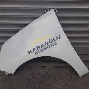 Renault Scenic III Çıkma Sol Ön Çamurluk 631017581R