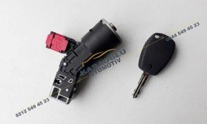 Renault Master 3 Kangoo 3 Clio 3 Kontak Kilit Takımı 7701208408 487003947R