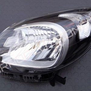 Renault Kangoo 3 Ön Sol Far Siyah Makyajlı Kasa 260607949R