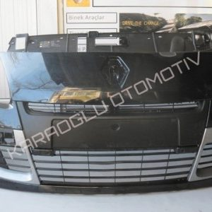 Renault Scenic 3 Siyah Komple Ön Tampon 620222226R