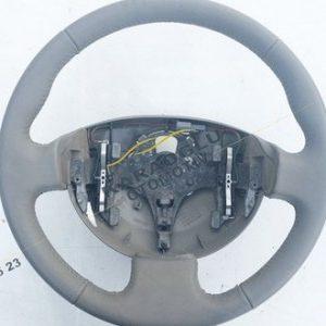 Renault Megane 2 Scenic 2 Direksiyon Simidi Bej Deri 8200276080