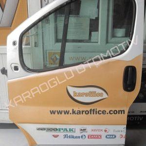 Renault Trafic Hatasız Kapı Sol Ön 7751472214 7751478602
